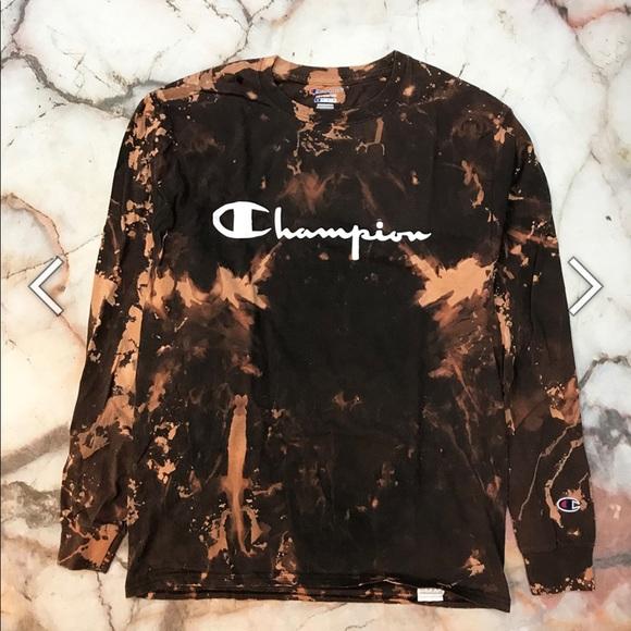 b0e5c601f320 Champion Shirts | Tie Dye Shirt | Poshmark